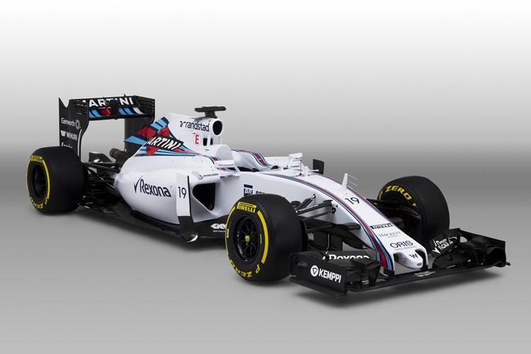 ウィリアムズ、新車「FW37」を正...